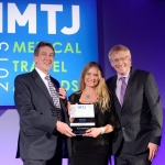 Winner of 'Medical spa of the year': Cocoon Medical Spa. Sarah Ward, Head of Operations, Intuition Communication on behalf of Louise Cogan, Founder Cocoon Medical Spa.