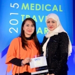 Judges of Sanjiv Malik Lifetime Award: Joyce Socao-Alumnoand Laila Aljassmi