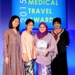 Winner of 'Excellence in customer service': Gleneagles Kuala Lumpur. Collecting: Adeline Abduhl Ghani, Noorhashimi Atan, Nurhayati Zainol Abidin and Shereen Kaur, Gleneagles Kuala Lumpur.